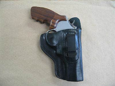 Sporting Goods 3-Slots Leather Holster Thumb Break Smith Wesson Model 500 Mag X-Frame 8 3/8BBL