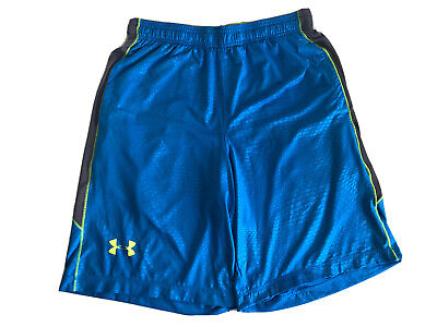 Mens Under Armour Raid Drawstring Shorts Training Size Mens Medium Loose Fit Under Armour Training Shorts