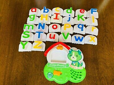 Learning Path Leap Frog Fridge Phonics Alphabet Complete Magnetic Set mix letter