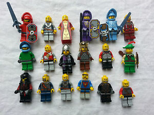 Lego minifigurine figurine personnage chevalier castle choose model ebay - Lego chevaliers ...
