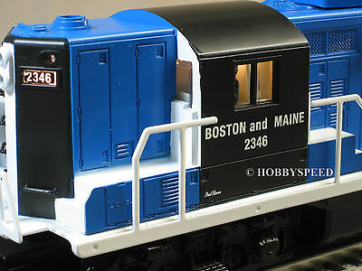 LIONEL BOSTON & MAINE PAUL REVERE 2346 GP9 DIESEL 6-81021 o gauge train 6-81032
