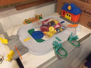 Little People sets, fisher price register & paw patrol mat