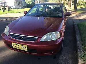 1999 Honda Civic Sedan With Pink Slip Seven Hills Blacktown Area Preview