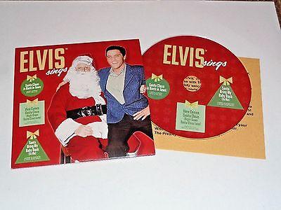 Elvis' 2016 Rare EPE Graceland Promo CD to Fan Club Presidents, Insert, Mint