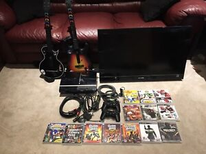 """PS3 bundle and 32"""" Sony tv"""