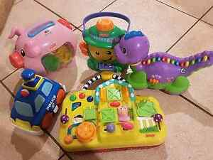 Leap frog. Fisher price. Piggy. Dinosaur. Collection. Kinross Joondalup Area Preview