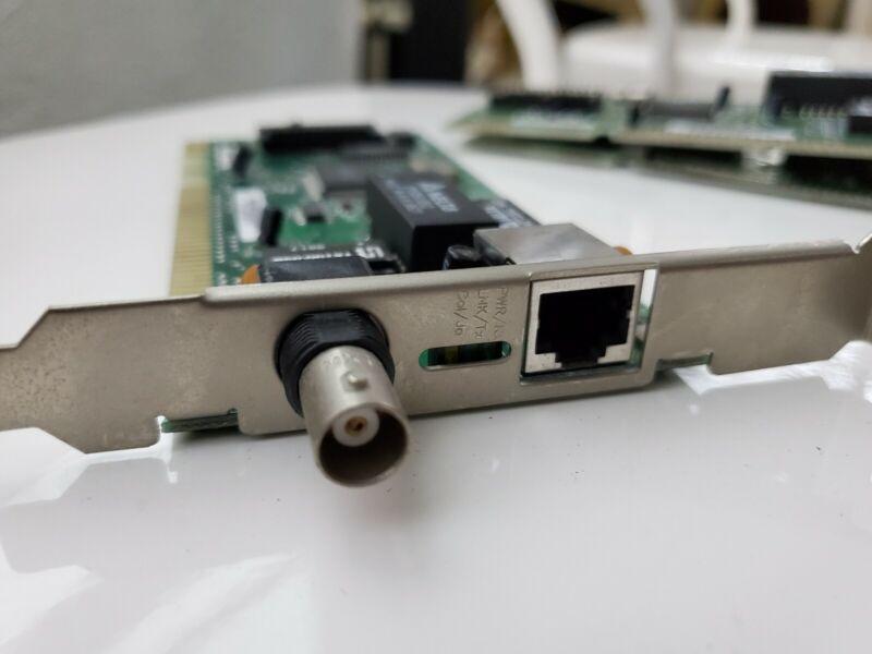 D-LINK DE-220E-CT PCB, ISA ETHERNET INTERFACE CARD