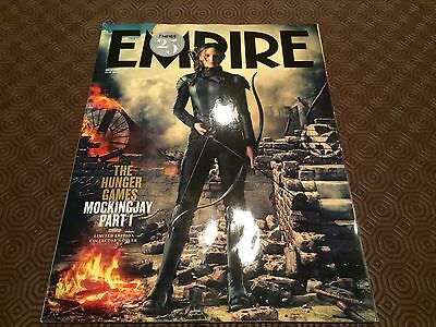 Empire Magazine - Hunger Games Mockingjay Pt 1 Collectors Cover DEC 2014 for sale  Shipping to Nigeria