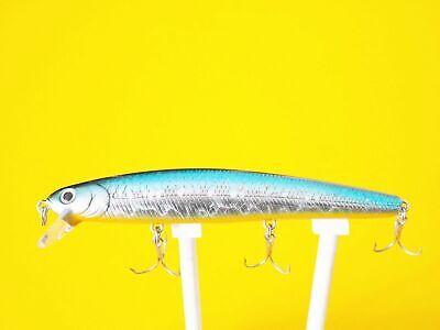 LUCKY CRAFT SW Flashminnow 130MR 789 Clear Sardine