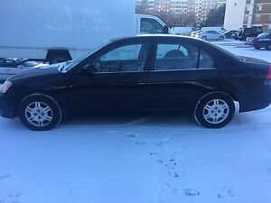2001 Honda Civic as-is/for parts