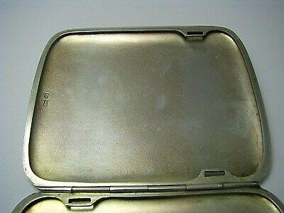 POLISH SOLID SILVER CIGARETTE CASE BOX 875 Silver By Kim Warsaw Poland Ca1920s - $545.00
