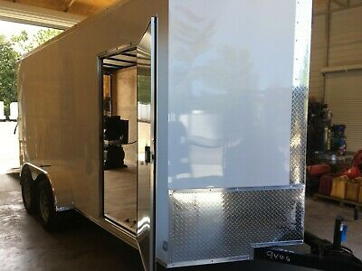 New Spray Ez 3000 Spray Foam Equipment Trailer Package- Shore Power