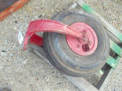 Farmall H Super H 300 350 Ih Tractor Single Front Wheel Tire Yoke