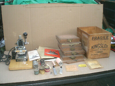Kingsley Hot Foil Stamping Machine 5 Type Sets Accessories Foils