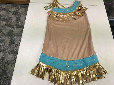 Native Dress Up (DISNEY STORE POCAHONTAS NATIVE AMERICAN DRESS UP HALLOWEEN COSTUME  SZ  7   8 )