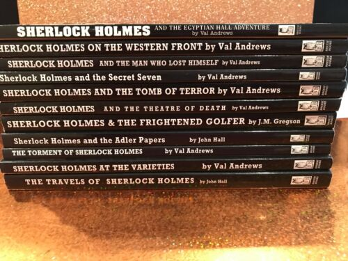 Lot of 11  Sherlock Holmes mysteries Breese Books paperbacks excellent condition