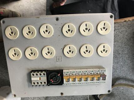 Hydroponic power boards