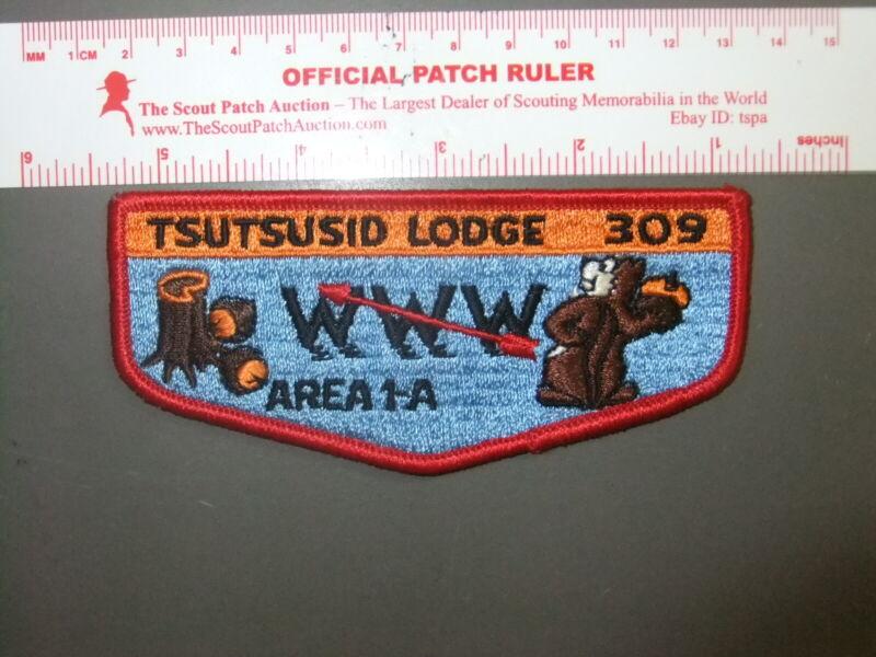 Boy Scout OA 309 Tsutusid flap 4008FF
