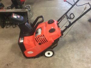 Ariens SS Snowblower Works Great! Snow Is Coming