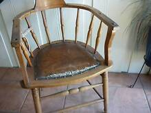 Old Vintage Captains Chair, VERY Shabby and Very Rusticated. Prospect Launceston Area Preview