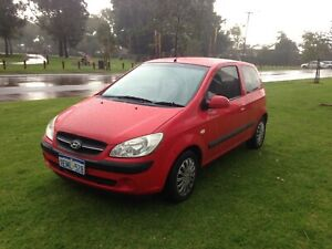 2009 HYUNDAI GETZ S MANUAL HATCH $2790 ( ONLY 107 438 KMS ) Leederville Vincent Area Preview