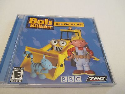 Bob The Builder Can We Fix It?  DVD Windows Compatible Game