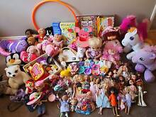 HUGE BULK LOT OF GIRLS TOYS - All in excellent or new condition Southern River Gosnells Area Preview