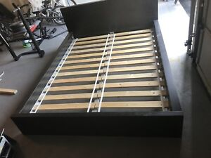 IKEA bed in extant condition queen size