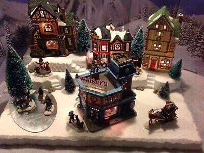 christmas village display platform For Lemax , Dept56 And Sns  ()