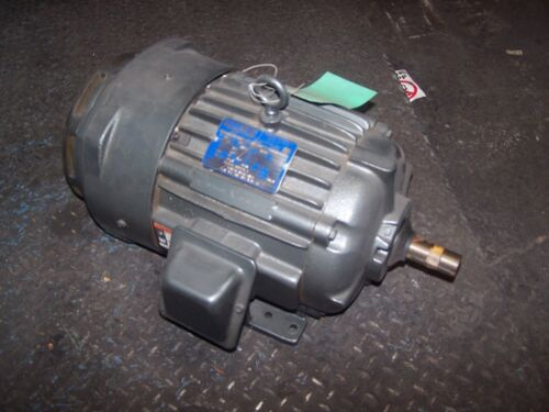 NEW LINCOLN 5 HP AC ELECTRIC MOTOR 215FCZ FRAME 460 VAC 1760 RPM TEFC