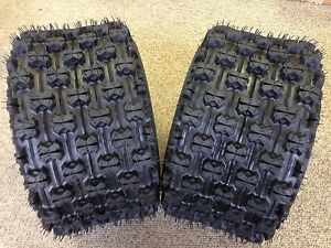 (Pair) 2 Quadboss Sport ATV Rear Tires 20X11X10 20X11-10 4 PLY QBT739
