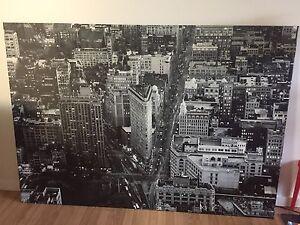 IKEA canvas city art picture