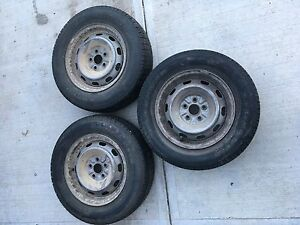 Used Tires on Rims