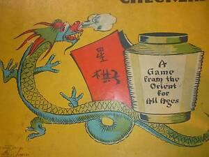 Old Vintage Set of Chinese Checkers. John Sands, Milton Bradley. Prospect Launceston Area Preview
