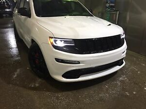 SUPERCHARGED SRT8 Jeep Grand Cherokee.   Low kms. Warranty