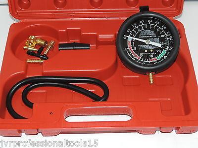 Vacuum  & Fuel pump Tester Gauge Test Kit  checks for worn or defective parts., used for sale  El Monte