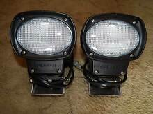 2X SPEAKER 35W HID/XENON 24V H/DUTY FLOOD LIGHTS Broke Singleton Area Preview