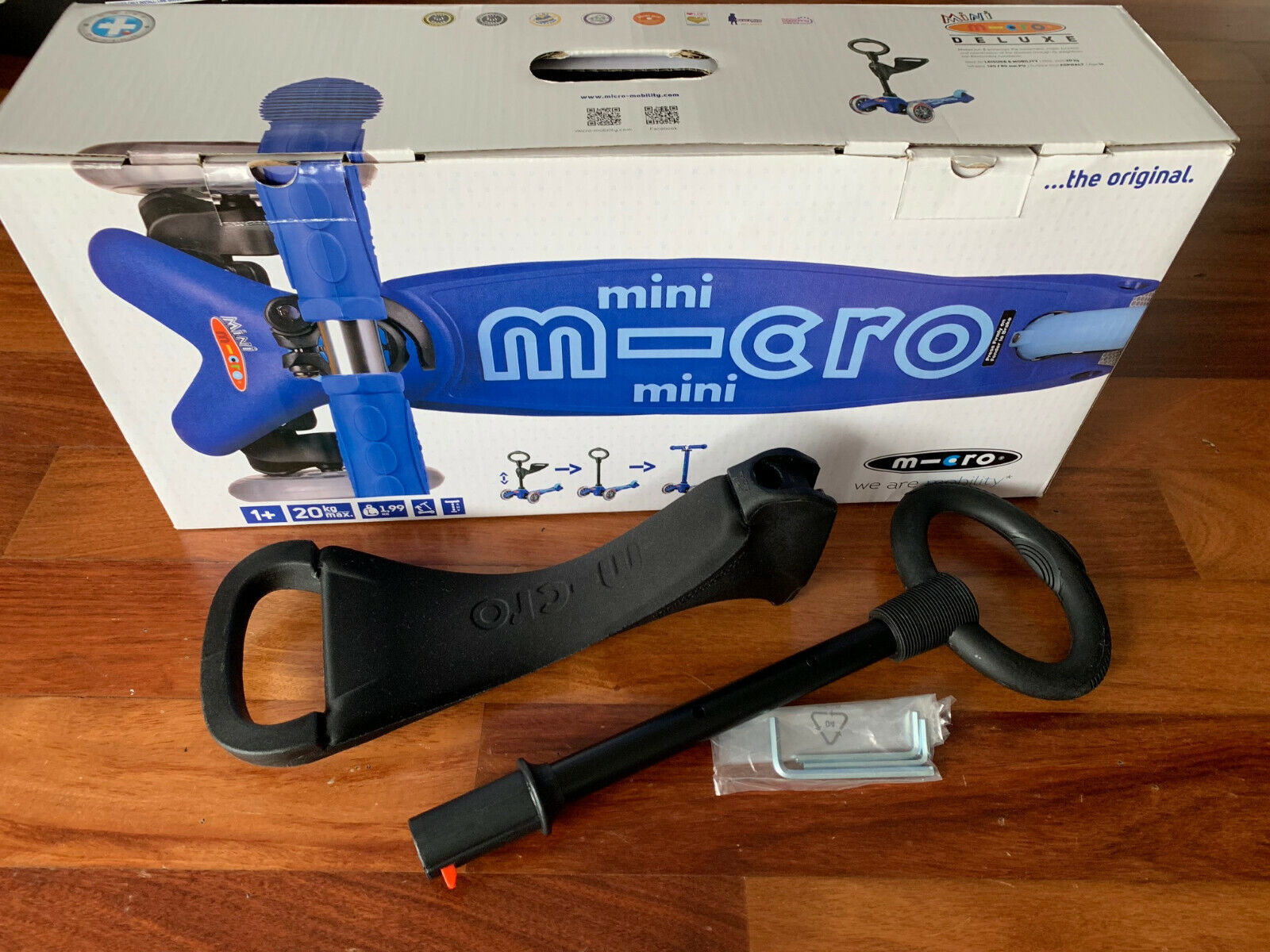 Micro Mini Kickboard 3in1 Deluxe Scooter SEAT & O RING HANDLE ONLY - BRAND NEW!