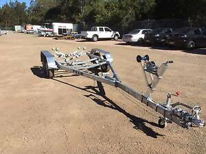17' 2000KG TANDEM AXLE, MULTI-ROLLER BOAT TRAILER, SUIT UPTO 5.3M Warners Bay Lake Macquarie Area Preview