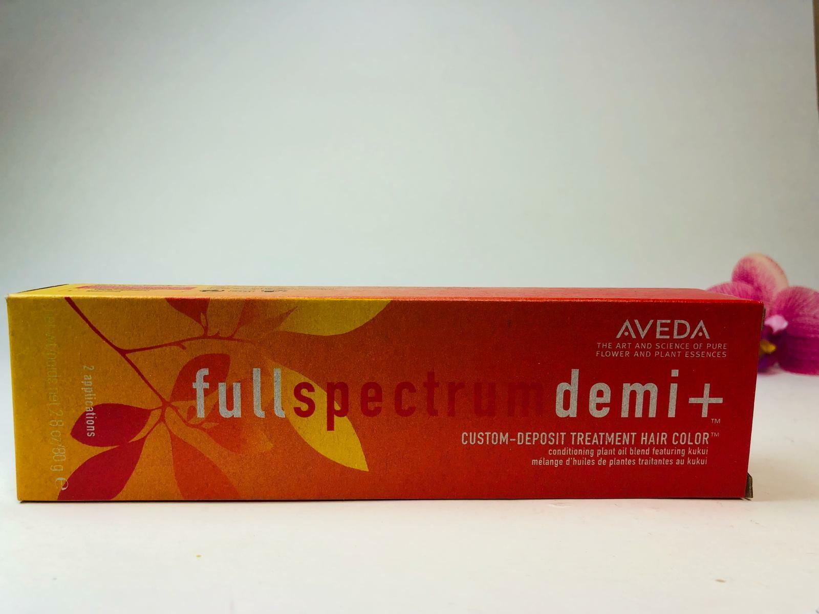 Aveda Full Spectrum Demi+ Custom-Deposit Treatment Hair Colo