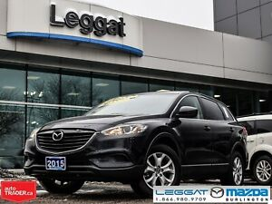 2015 Mazda CX-9 GS-LUXURY PKG, NAVIGATION, REMOTE START, BLUETOO