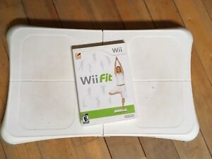 Wii fit with disk