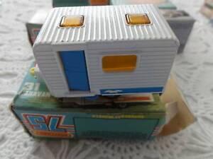 MATCHBOX 75 SERIES, NO. 31 CARAVAN, AS NEW  IN ORIGINAL BOX