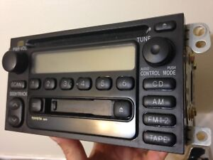 Original Toyota factory car stereo