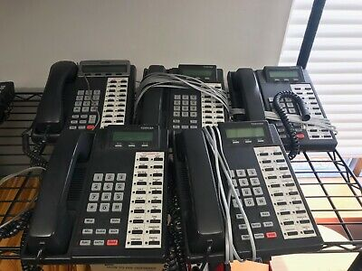 Small Business Toshiba Phone System - Works Great