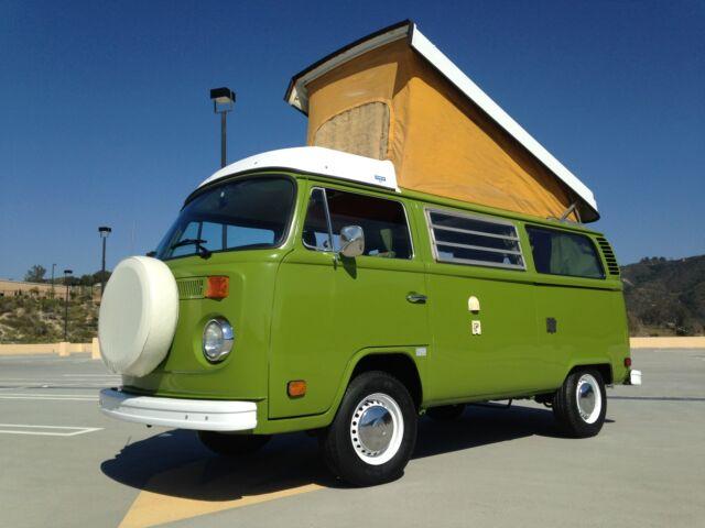 Volkswagen : Bus/Vanagon WESTFALIA 1976 deluxe vw volkswagen westfalia camper van bus free ship w buy it now