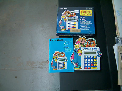 Radio Shack 60-2334 Fun 'N Calc LCD Kiddy Calculator Manufactured May 1990