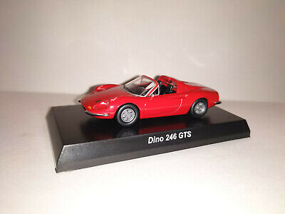 1/64 Kyosho Ferrari Dino 246 GTS open top Red