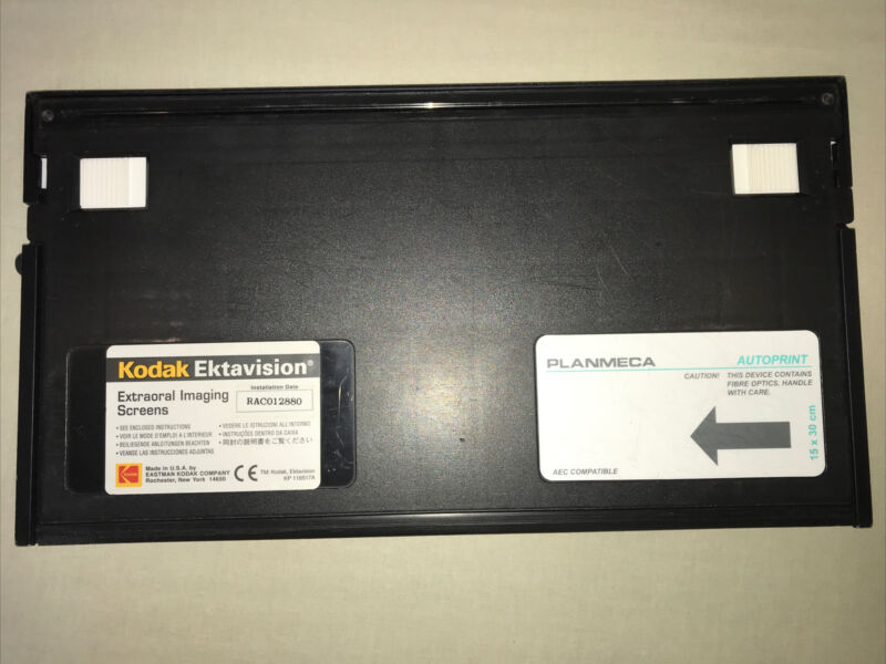 15X30 cm Pano Screens X-rays Cassette Kodak Ektavision Extraoral Imaging