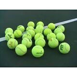 25 USED Tennis Balls ~ Dog Toy Catch Baseball~Walker Table Chair feet~FREE SHIP!